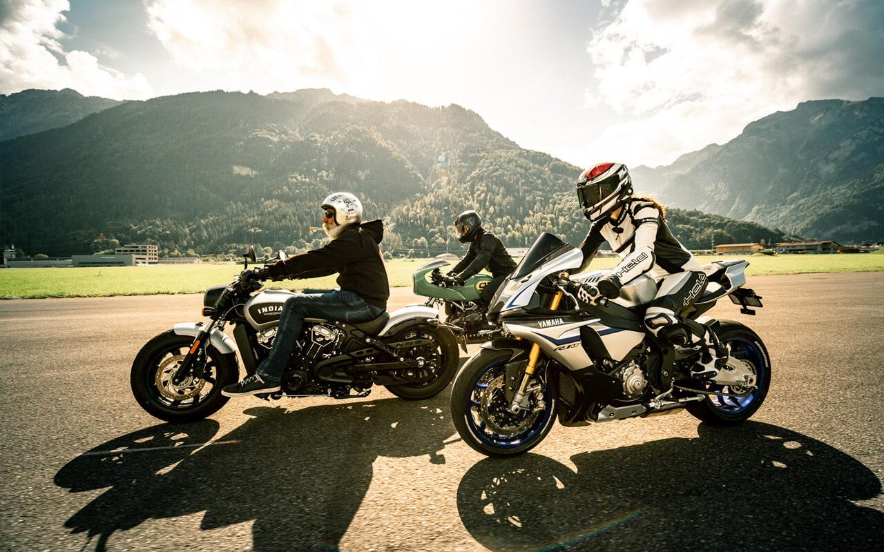 BikeXperts verbinden Motorradspass mit Sicherheit